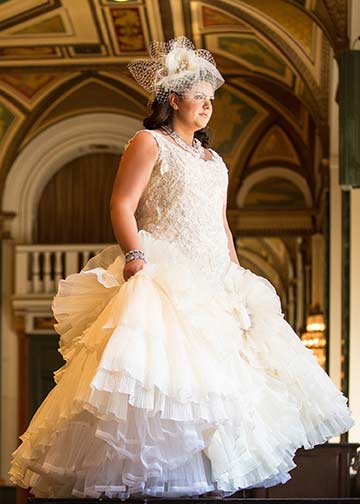 beautiful-plus-size-wedding-dress | Valencienne Bridal