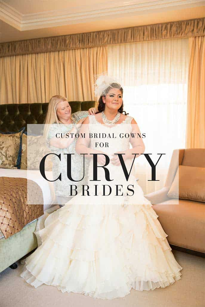 bespoke wedding gowns for plus sized brides