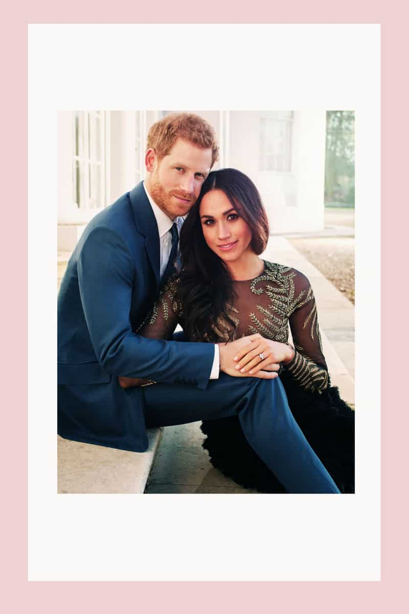 meghan and harry engagement wedding photos